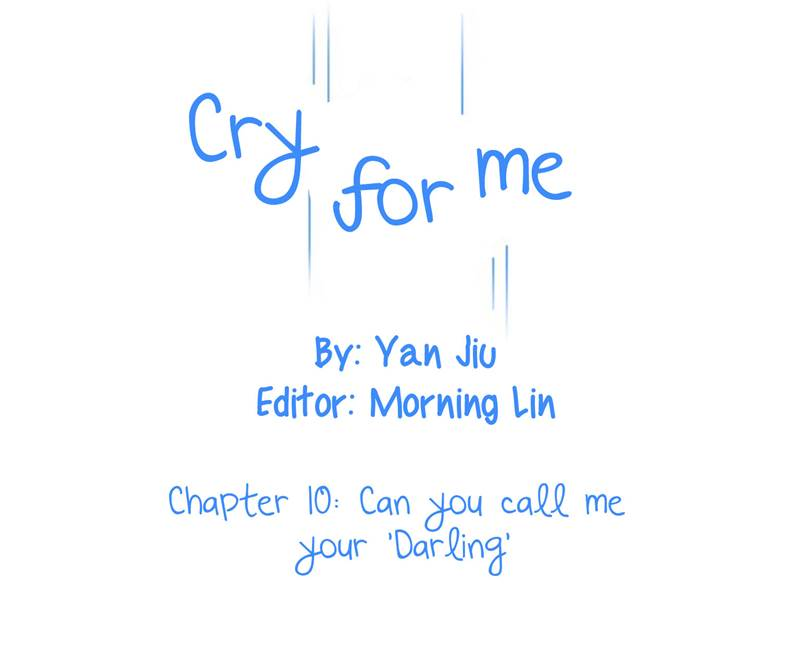 Cry for me - Chapter 11