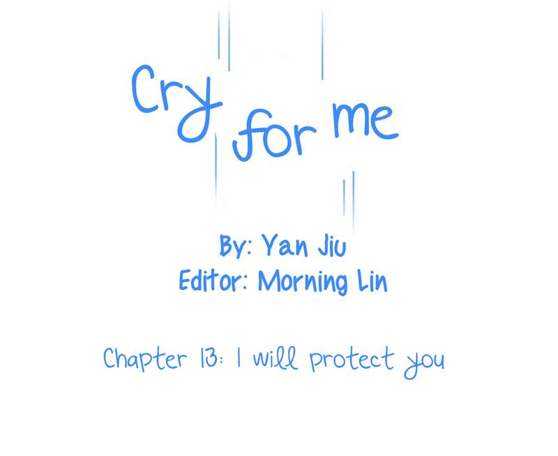 Cry for me - Chapter 15