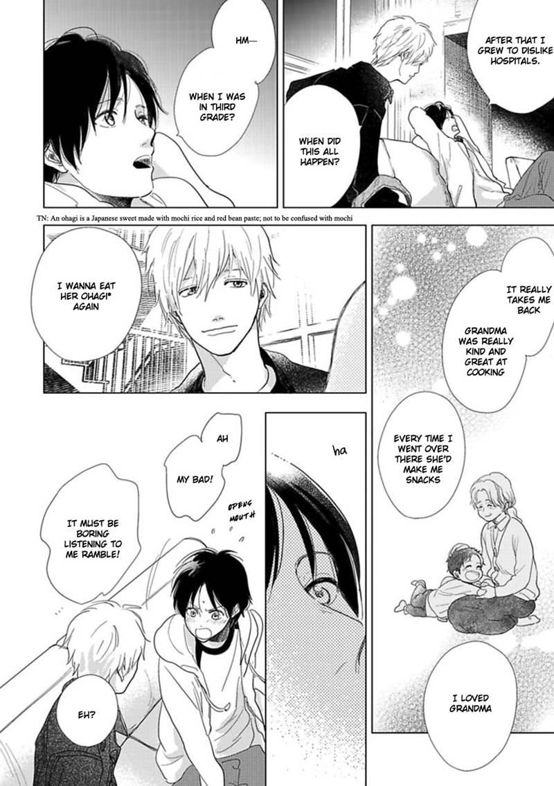Hidamari ga Kikoeru - Chapter 21