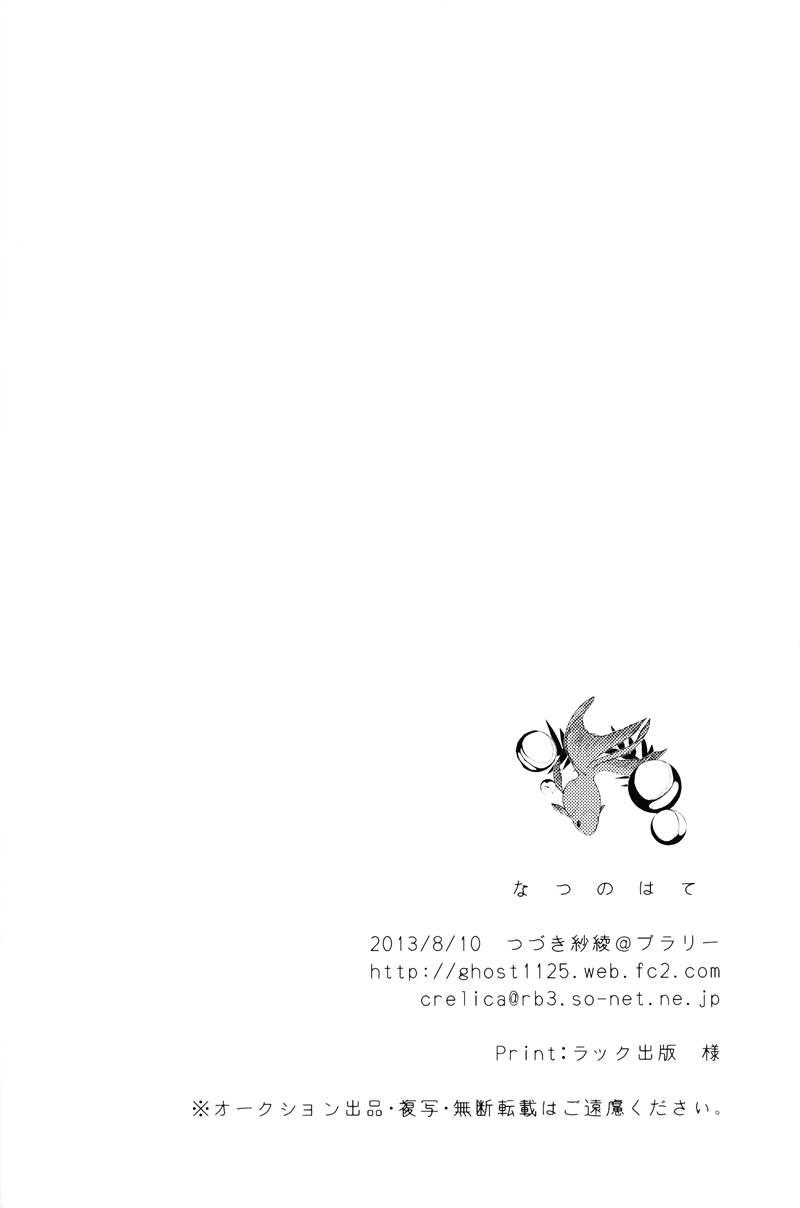 Kuroko no Basket dj - Natsu no Hate Ch.1