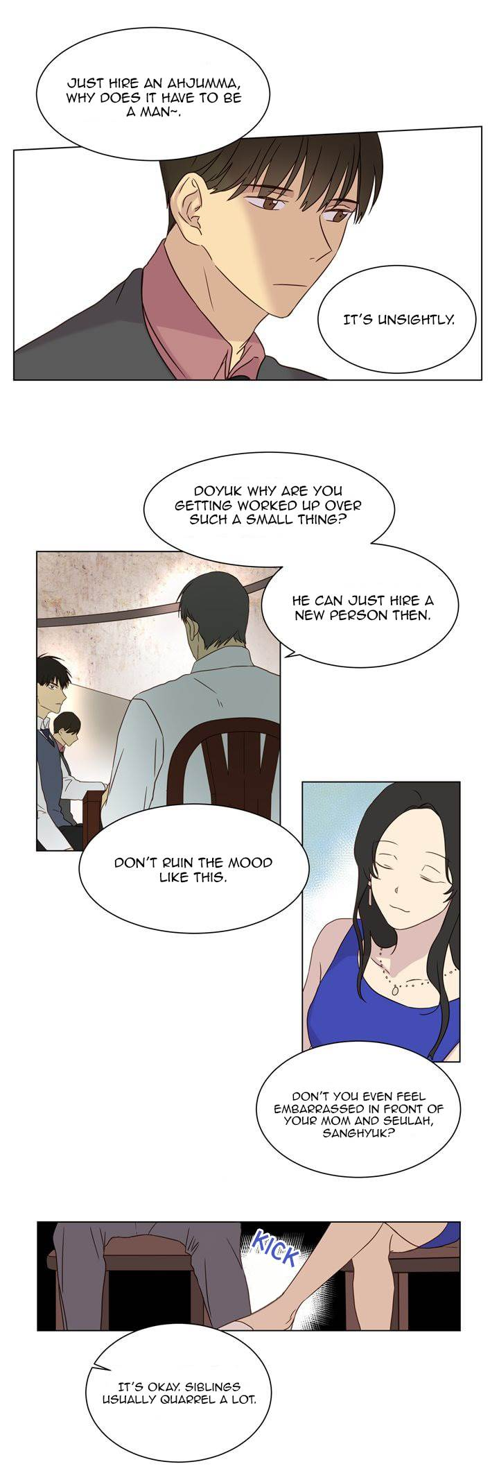 Take care of my housekeeper - Chapter 24