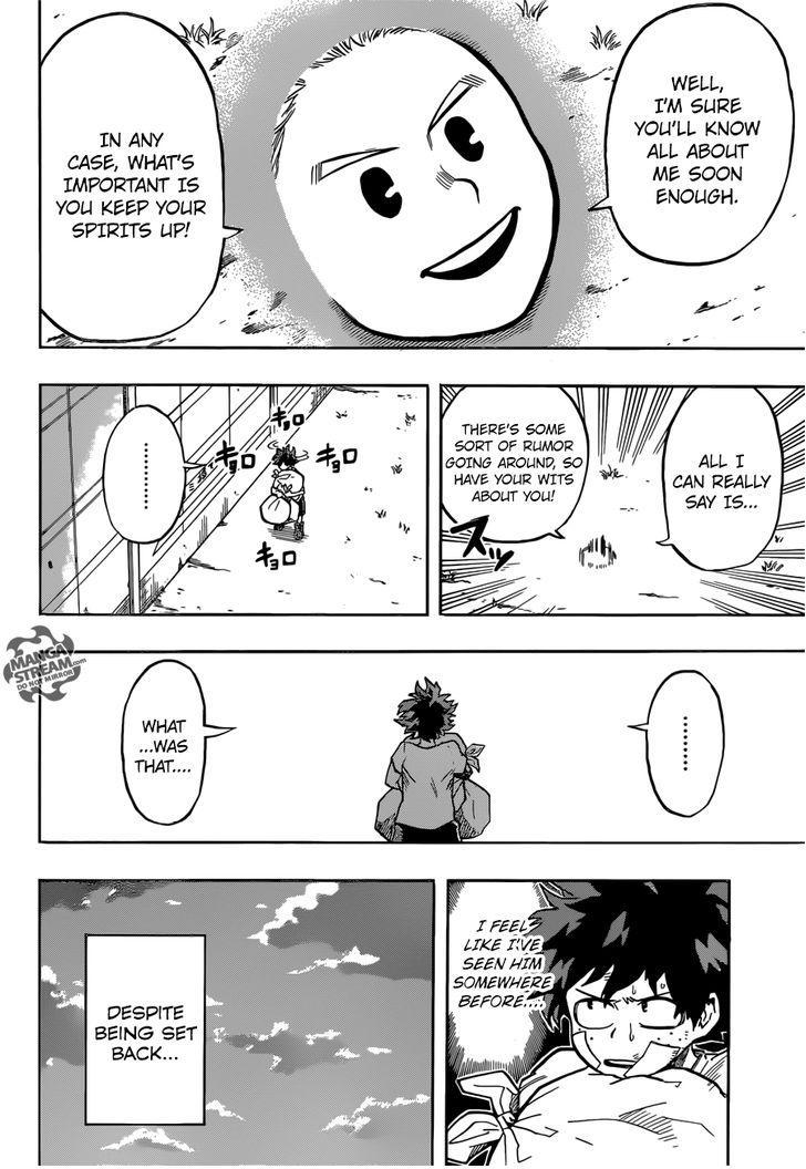 Boku no Hero Academia - Chapter 137