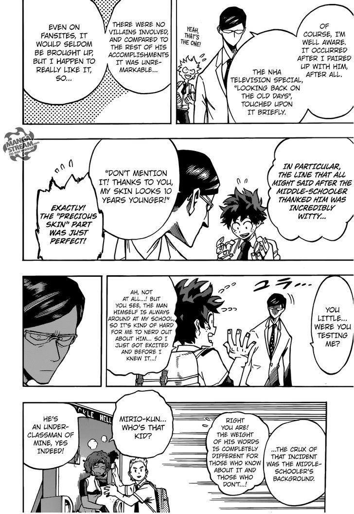 Boku no Hero Academia - Chapter 143