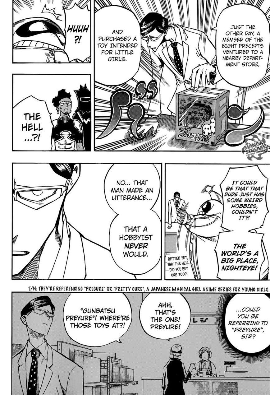 Boku no Hero Academia - Chapter 155