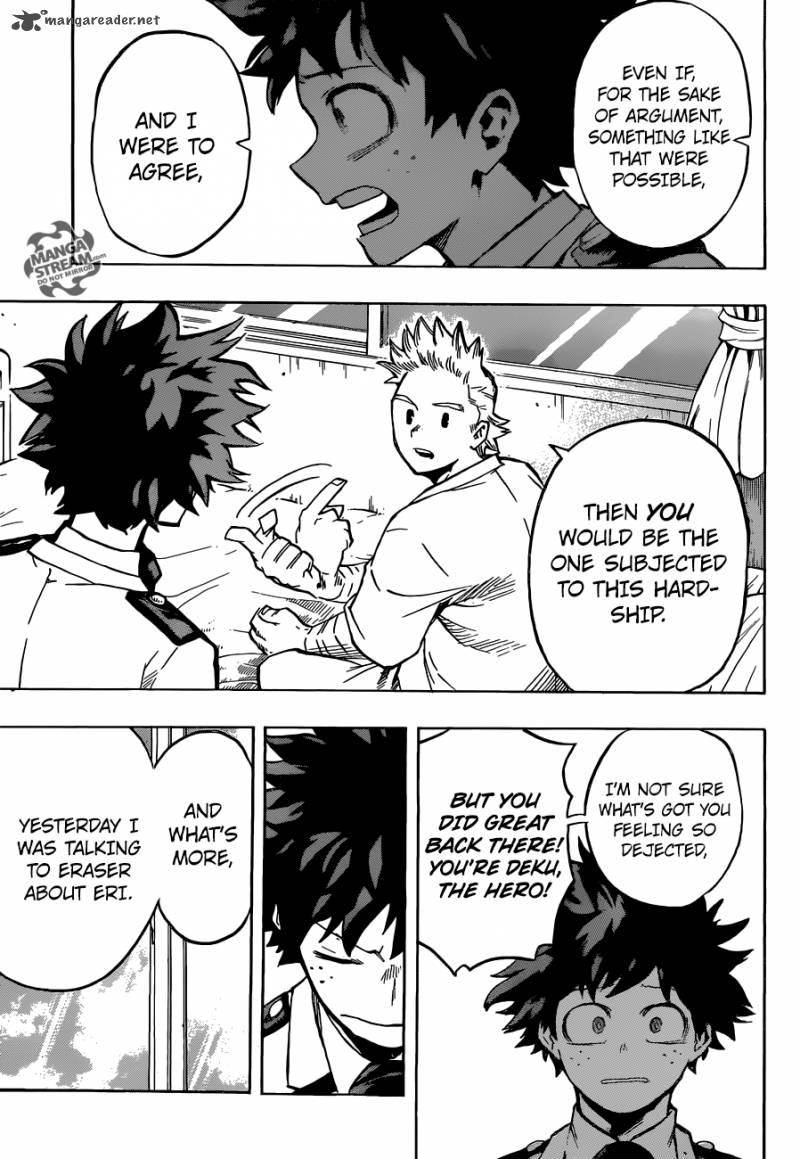 Boku no Hero Academia - Chapter 183