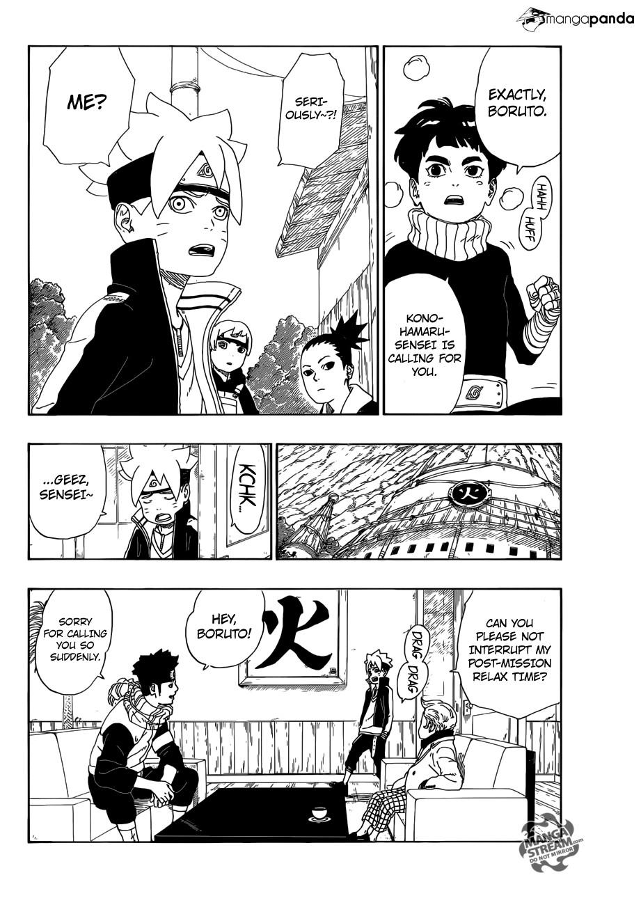 Boruto: Naruto Next Generations - Chapter 11