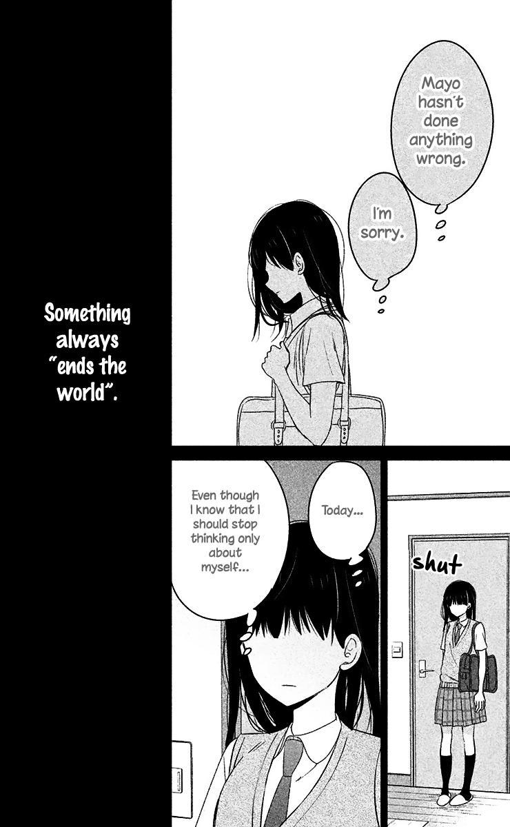Chikyuu no Owari wa Koi no Hajimari - Chapter 10