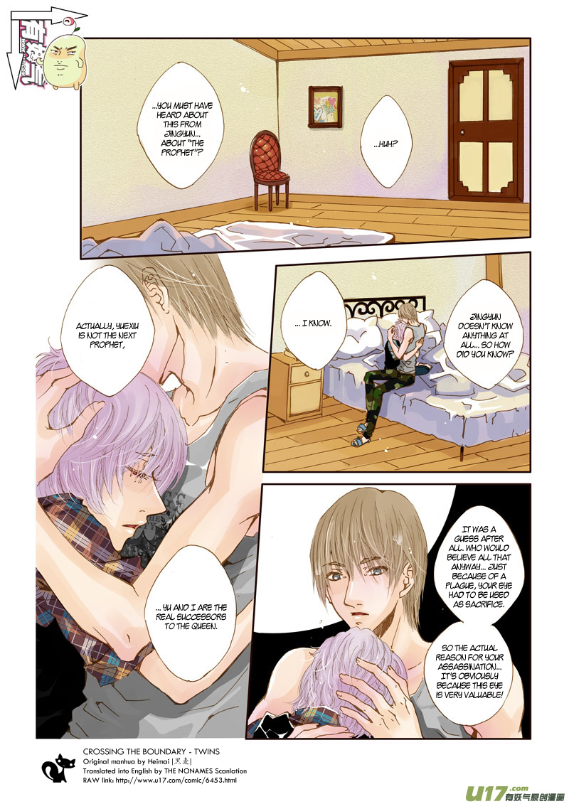 Crossing the Boundary - Twins - Chapter 21