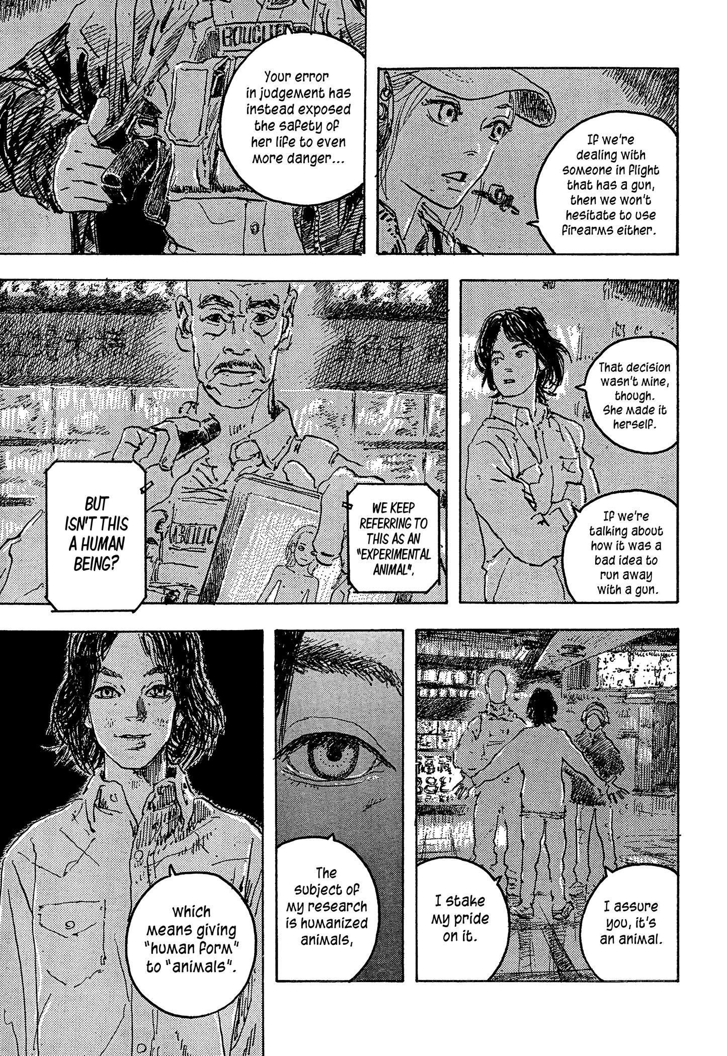Daisuke Igarashi Anthology: Umwelt Ch.10
