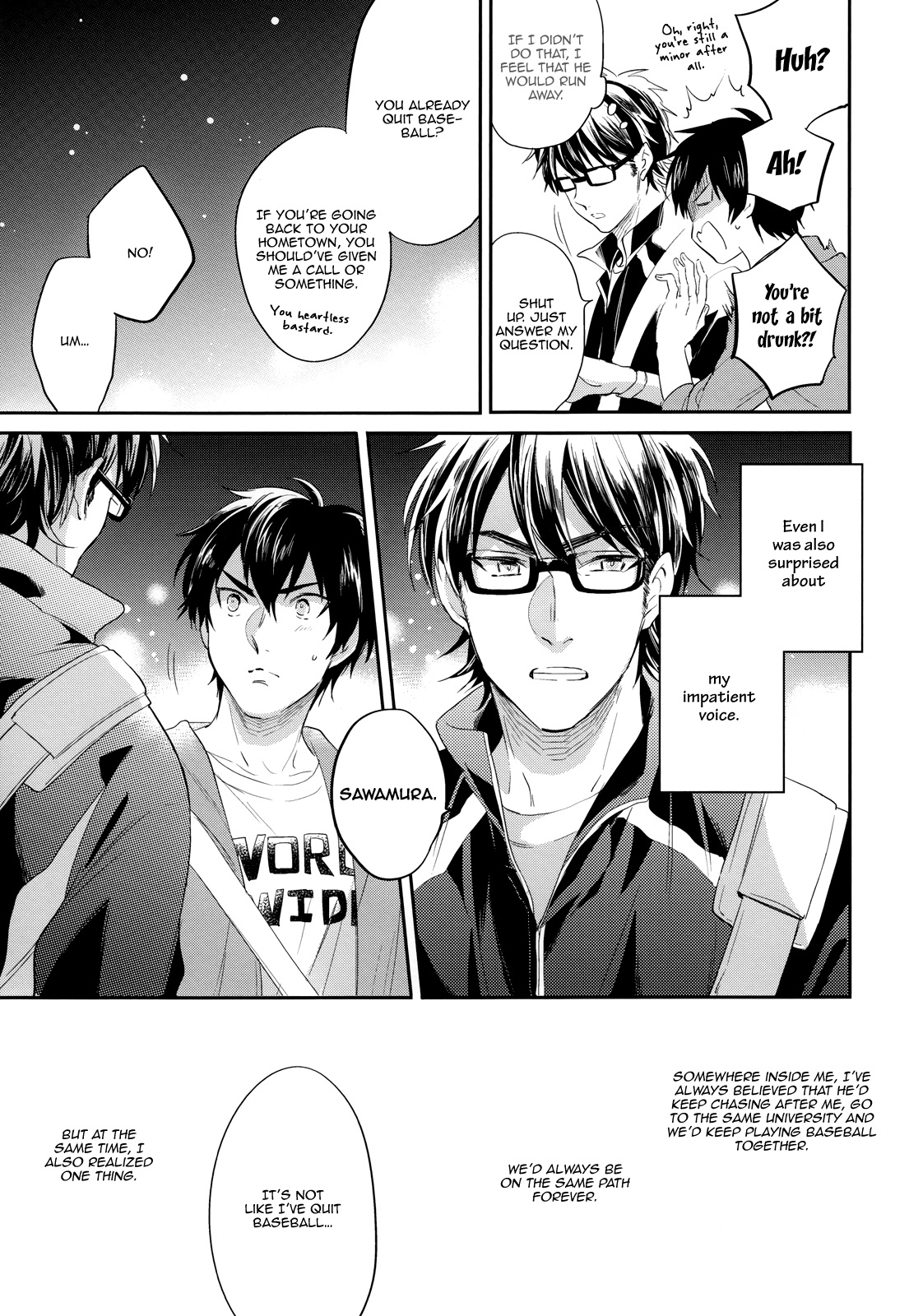 Daiya no A dj - Vintage chapter 1 page 20