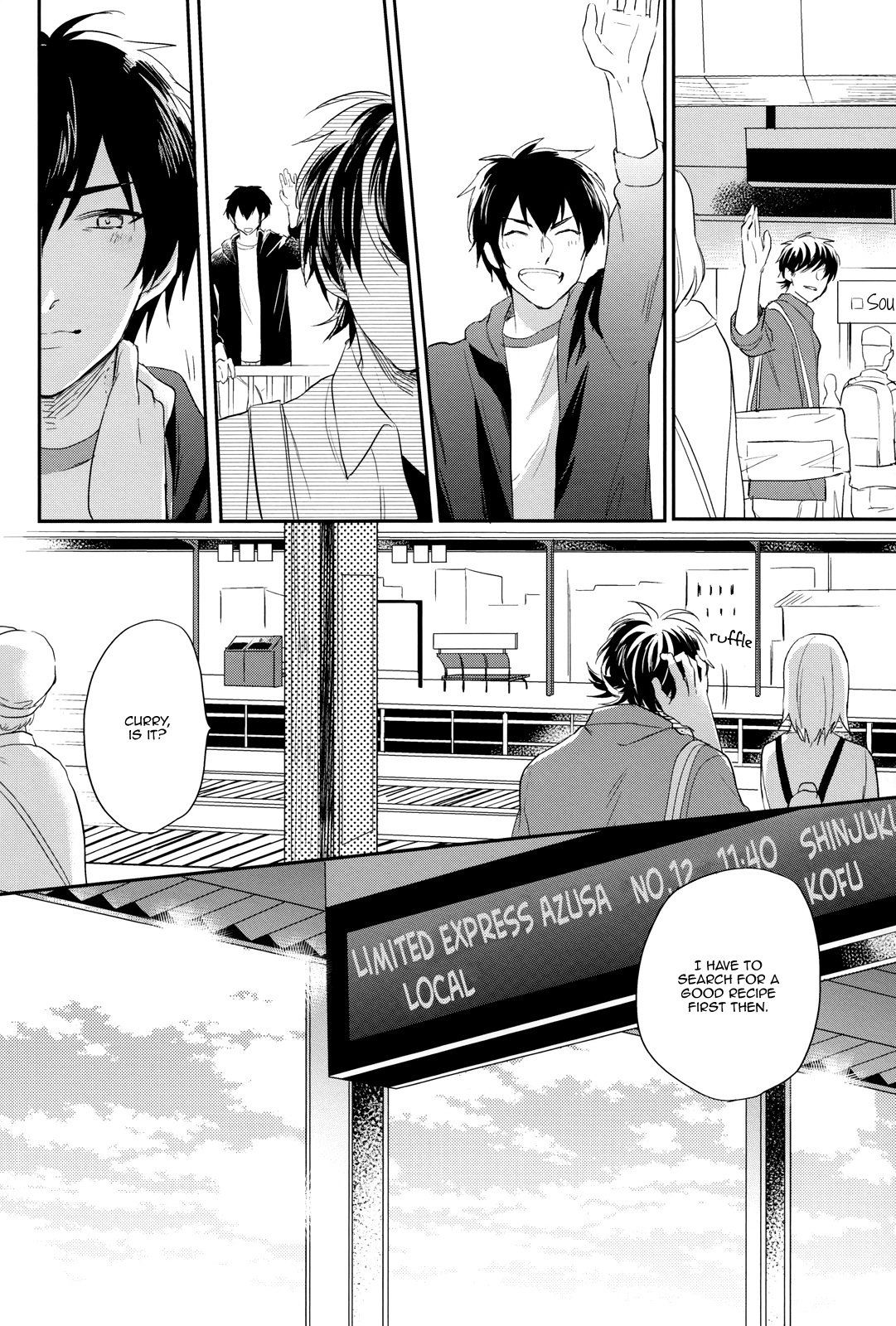 Daiya no A dj - Vintage chapter 1 page 35