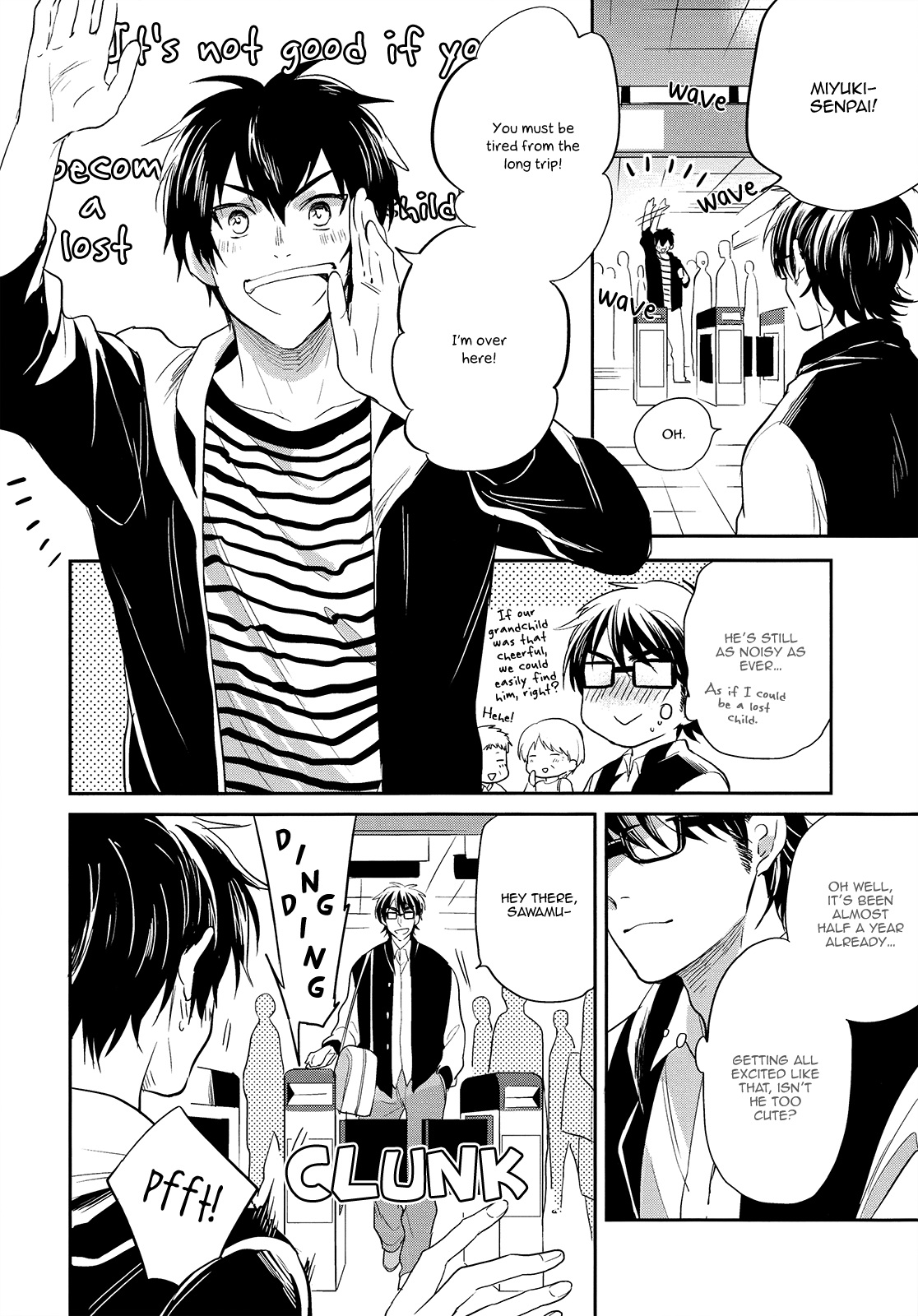 Daiya no A dj - Vintage chapter 1 page 7