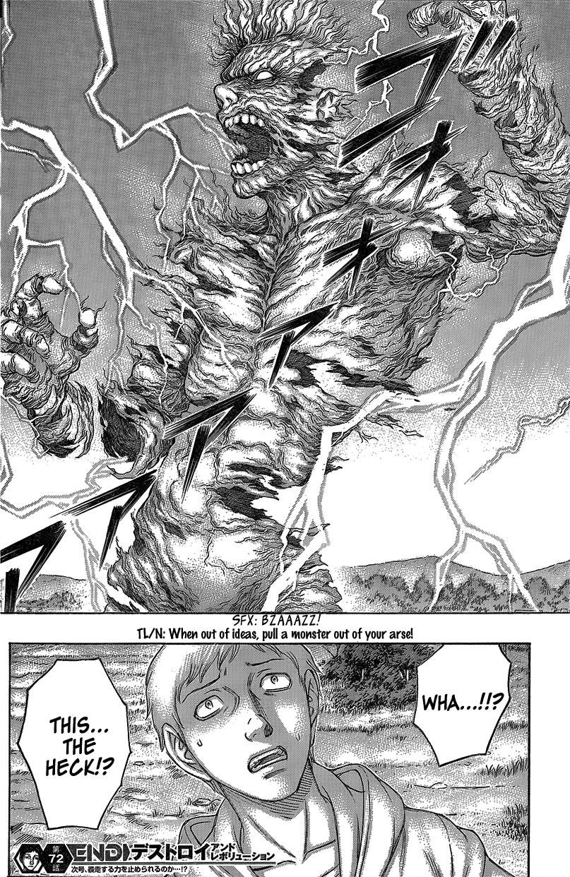 Destroy and Revolution - Chapter 74