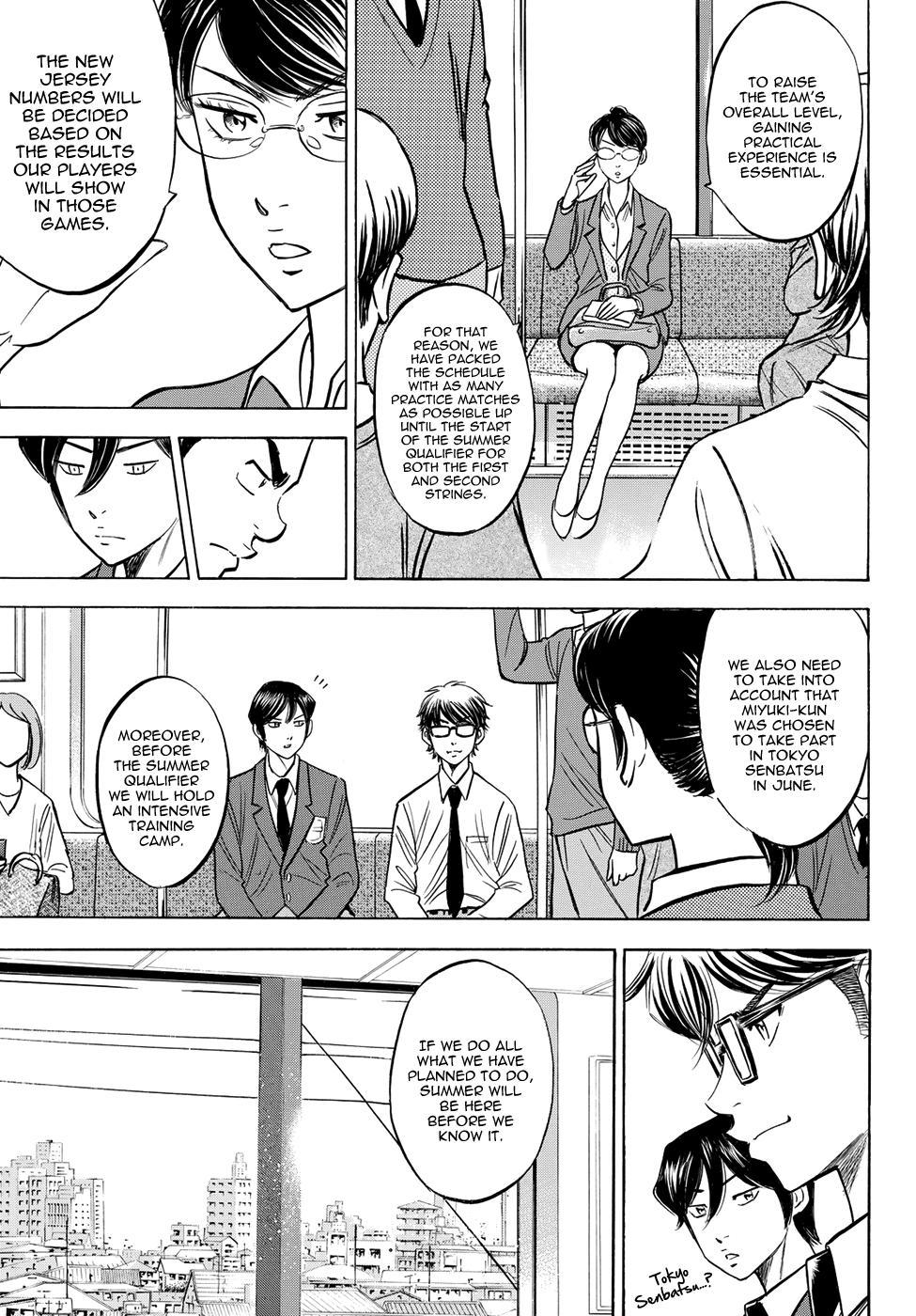 Daiya no A - Act II - Chapter 57