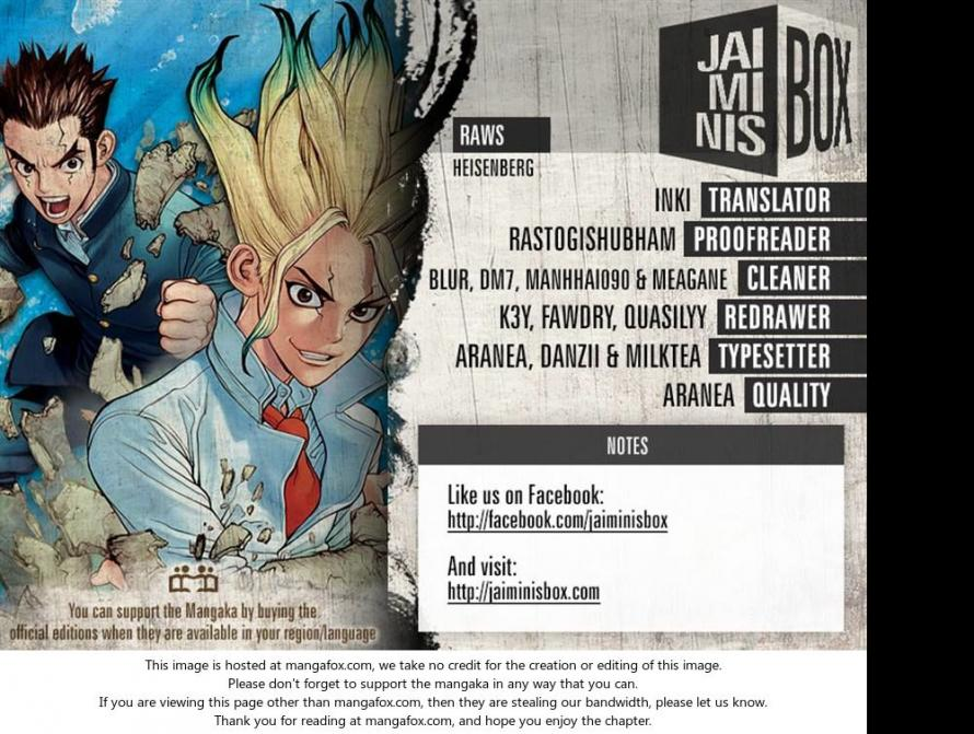 Dr. Stone - Chapter 18