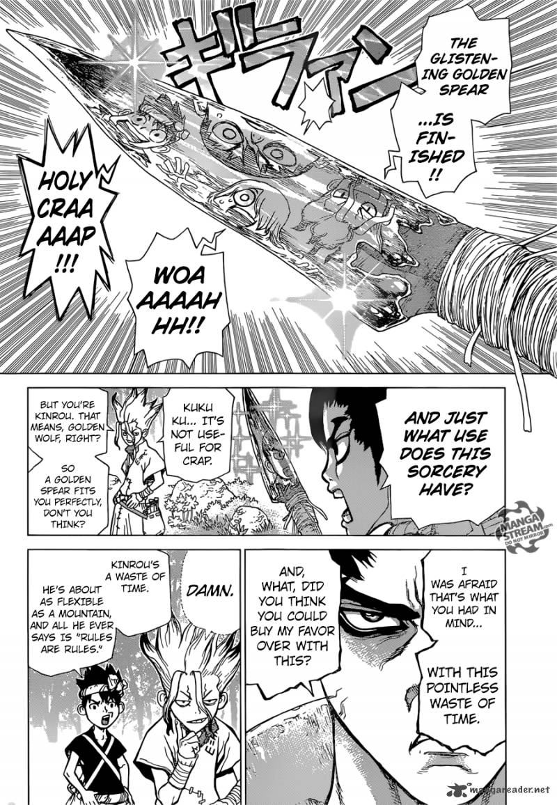 Dr. Stone - Chapter 20