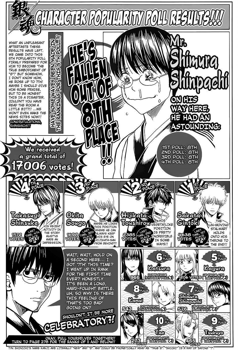 Gintama - Chapter 660