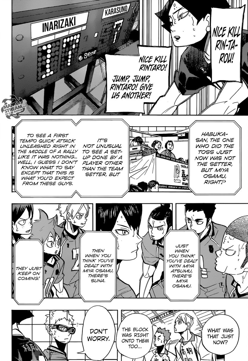 Haikyuu!! - Chapter 278