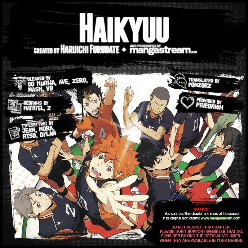 Haikyuu!! - Chapter 278