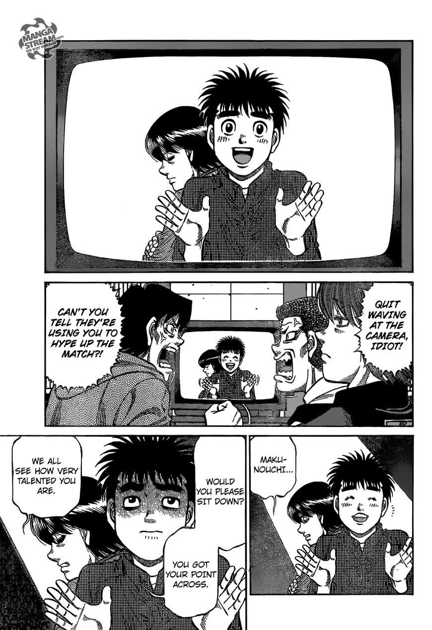 Hajime no Ippo - Chapter 1168