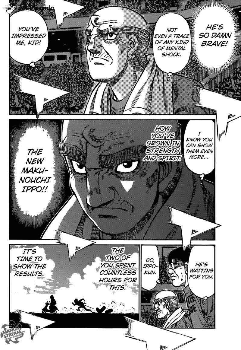 Hajime no Ippo - Chapter 1184