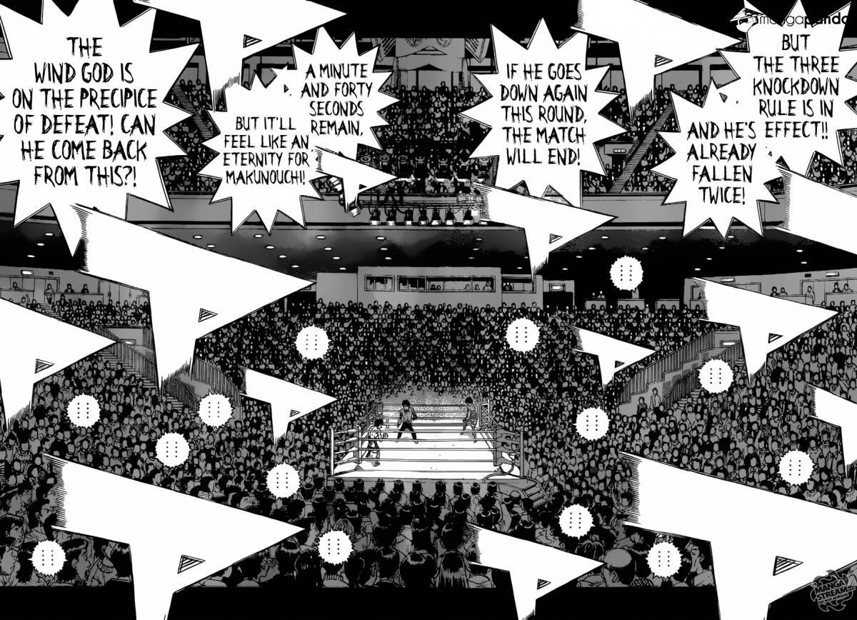 Hajime no Ippo - Chapter 1196