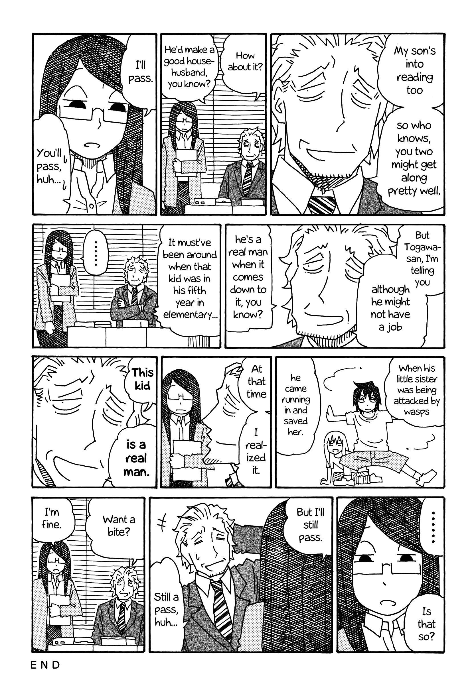 Hatarakanai Futari (YOSHIDA Satoru) - Chapter 183