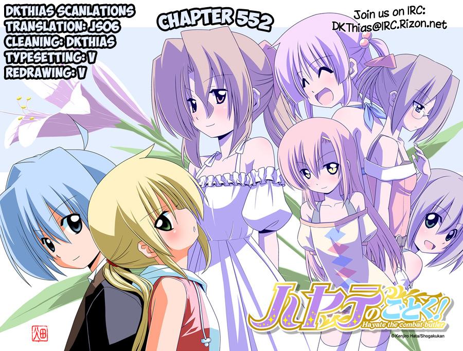 Hayate the Combat Butler - Chapter 588