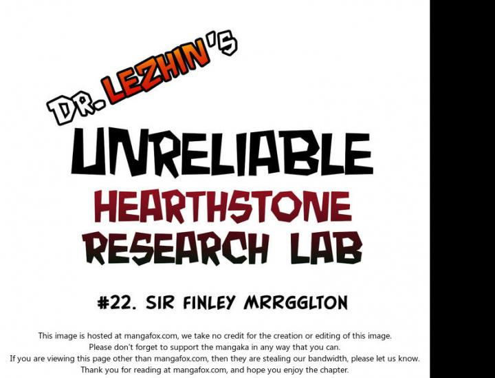 Hearthstone Lab - Chapter 17