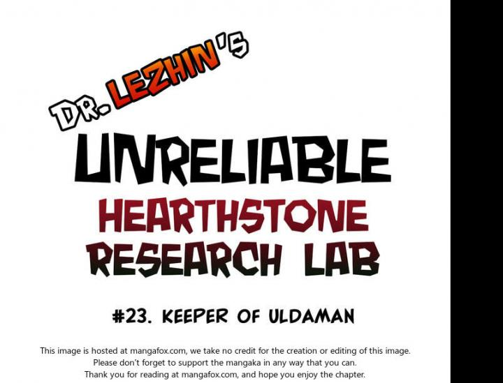 Hearthstone Lab - Chapter 18