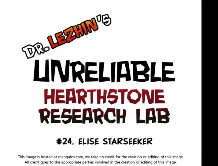 Hearthstone Lab - Chapter 19