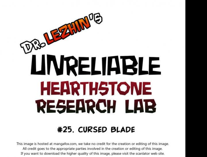 Hearthstone Lab - Chapter 20