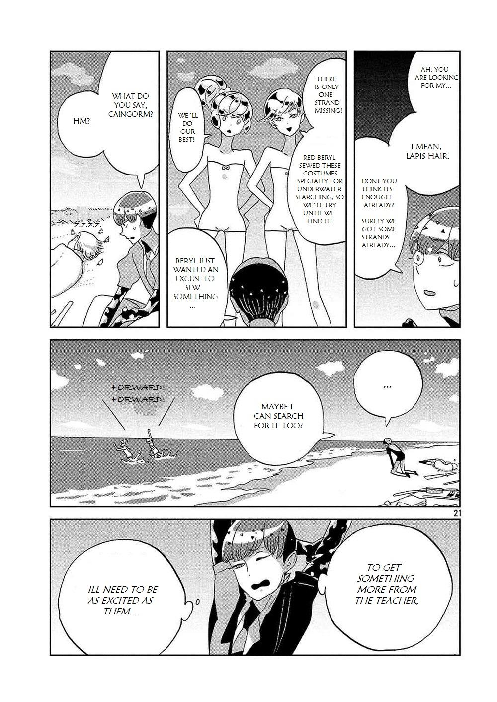 Houseki no Kuni - Chapter 50