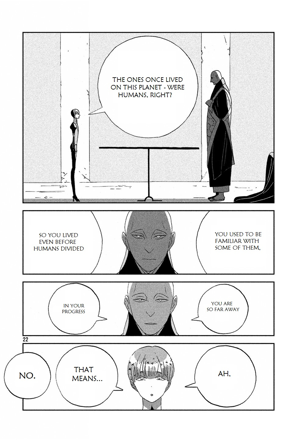 Houseki no Kuni - Chapter 52