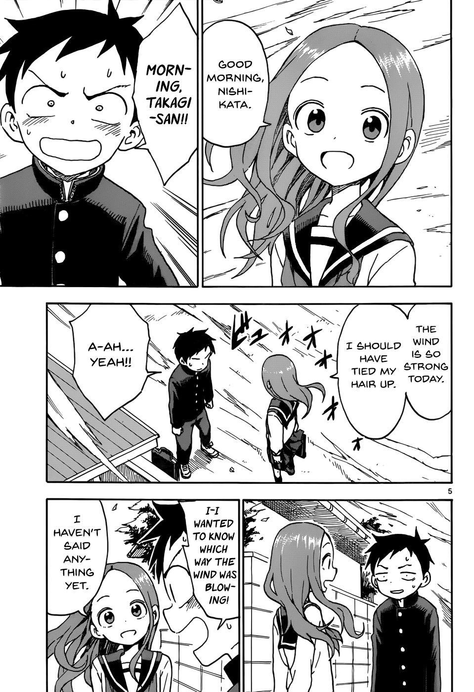 Karakai Jouzu no Takagi-san - Chapter 52