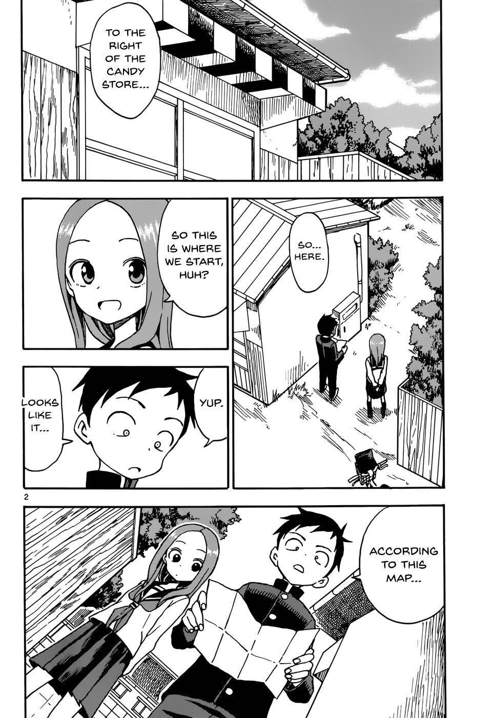 Karakai Jouzu no Takagi-san - Chapter 55