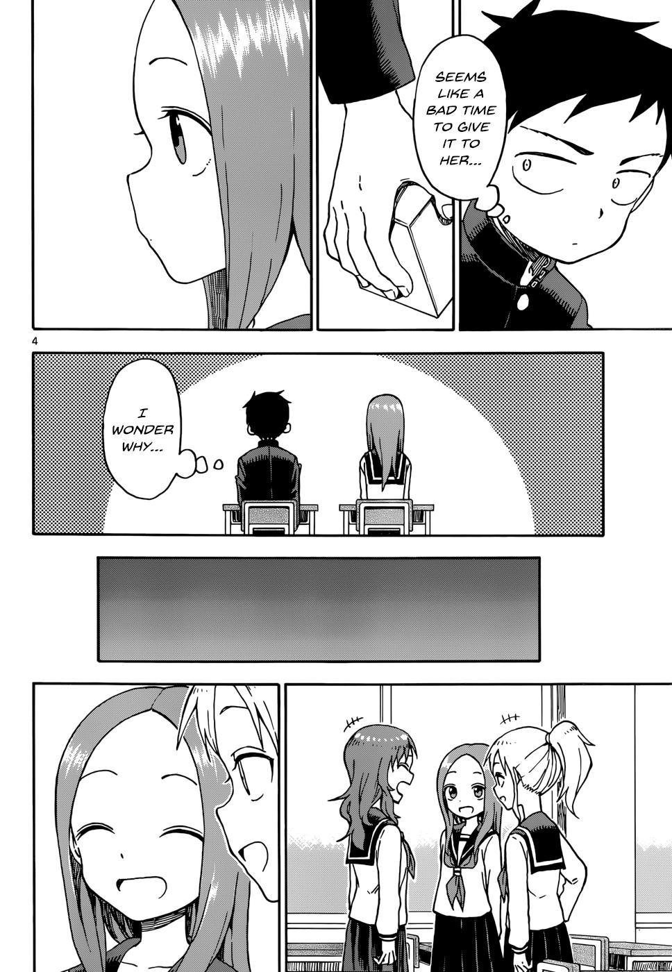 Karakai Jouzu no Takagi-san - Chapter 56