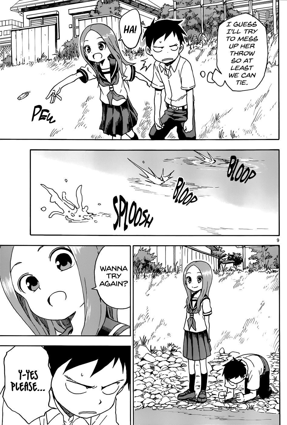Karakai Jouzu no Takagi-san - Chapter 77
