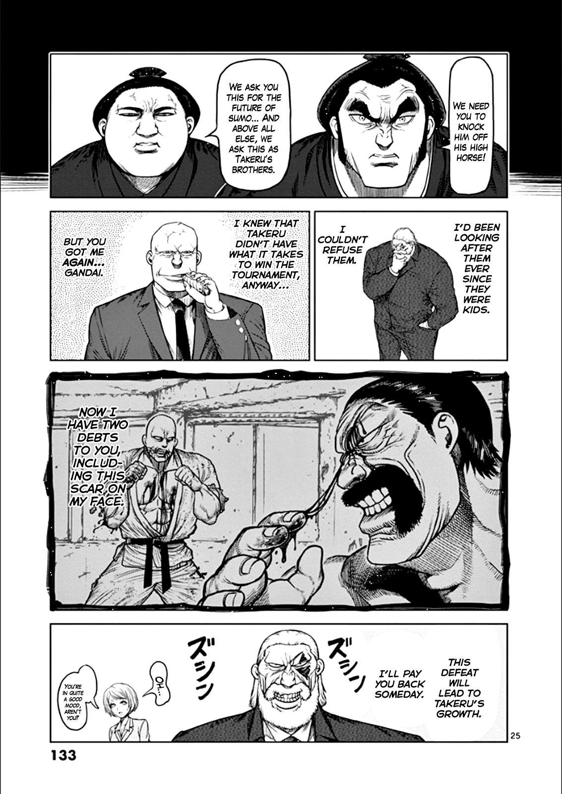 Kengan Ashua - Chapter 87