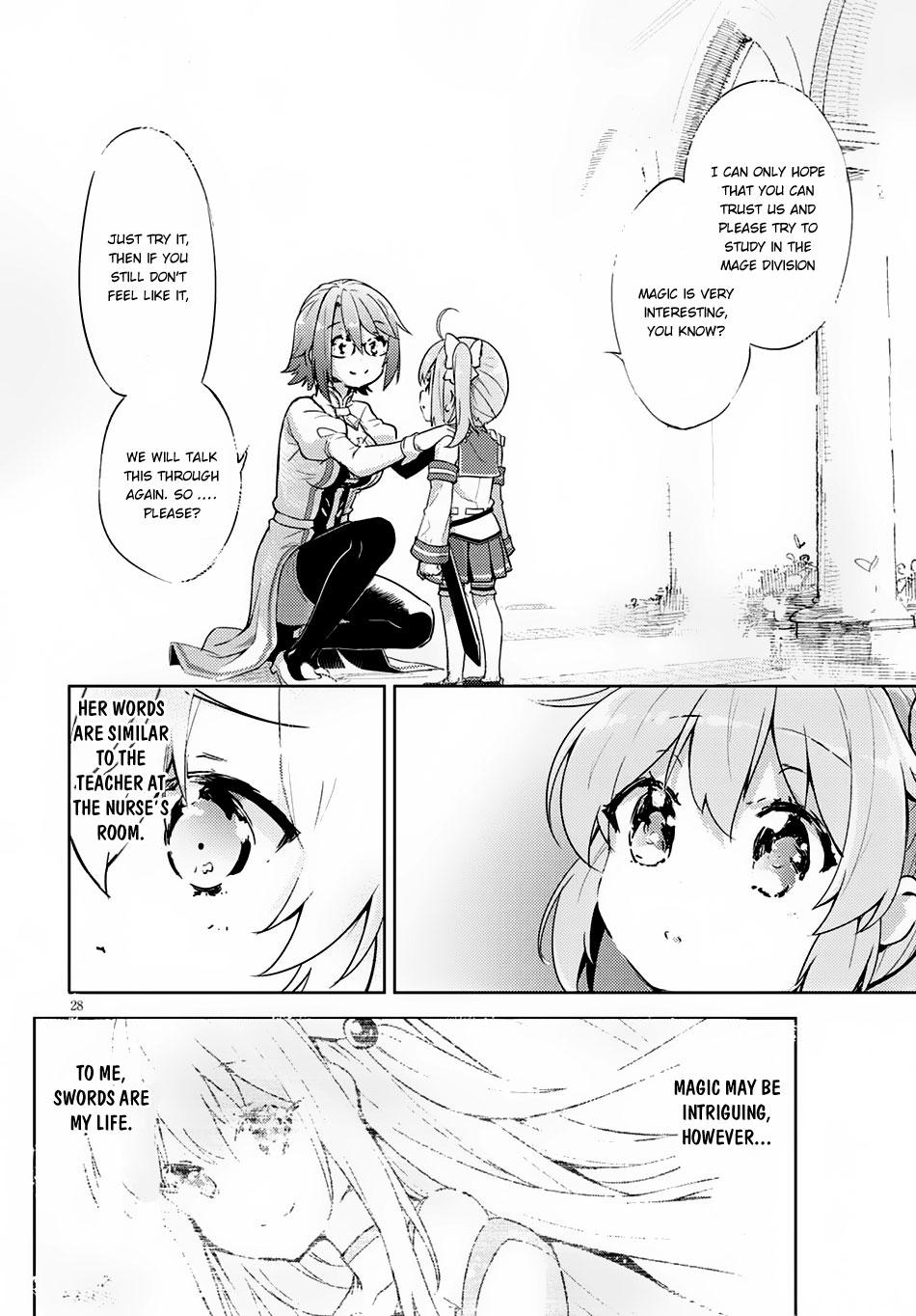 Kenshi o Mezashite Nyūgaku Shitanoni Mahō Tekisei 9999 Nandesukedo!? Ch.1