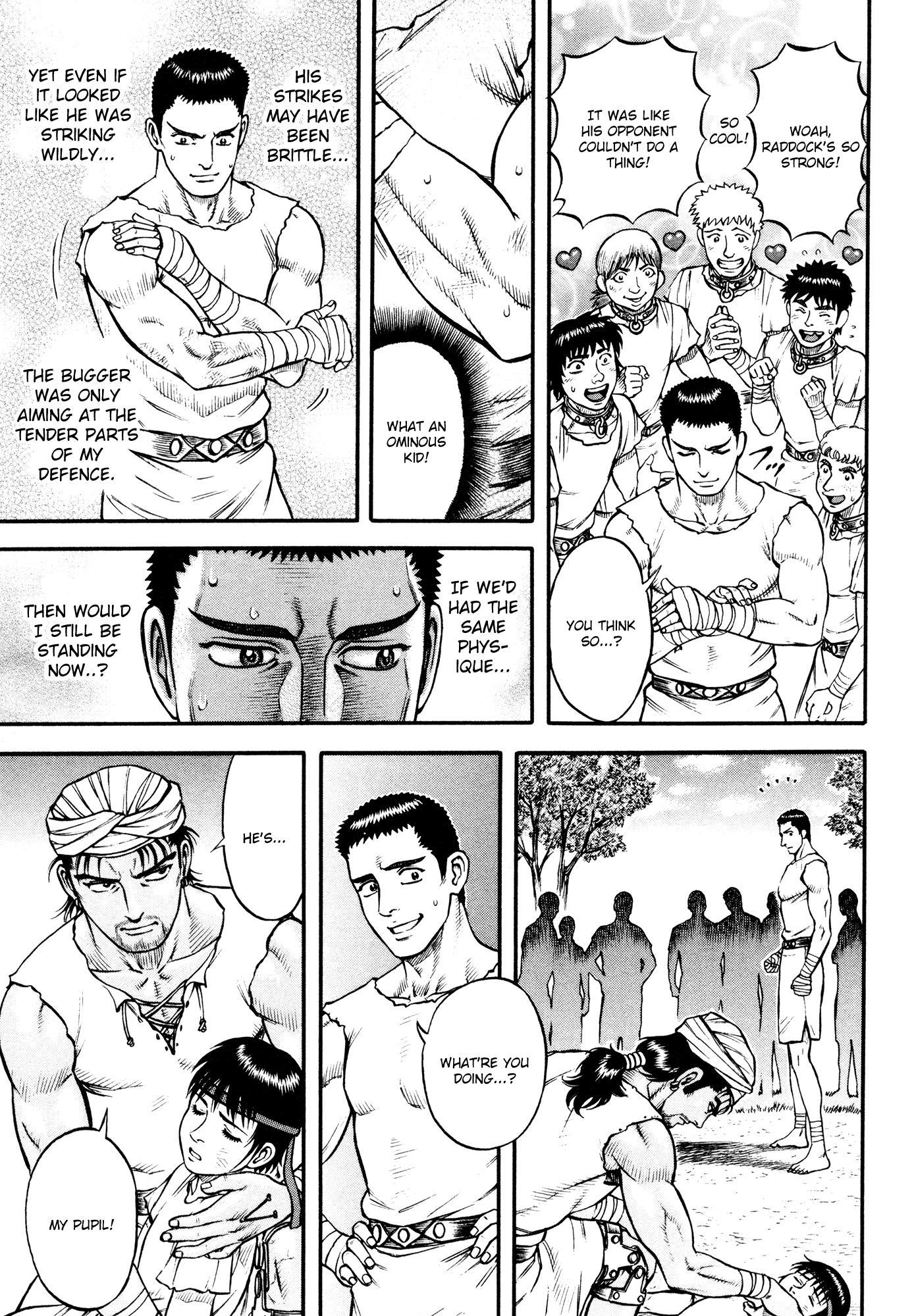 Kento Ankokuden Cestvs - Chapter 40