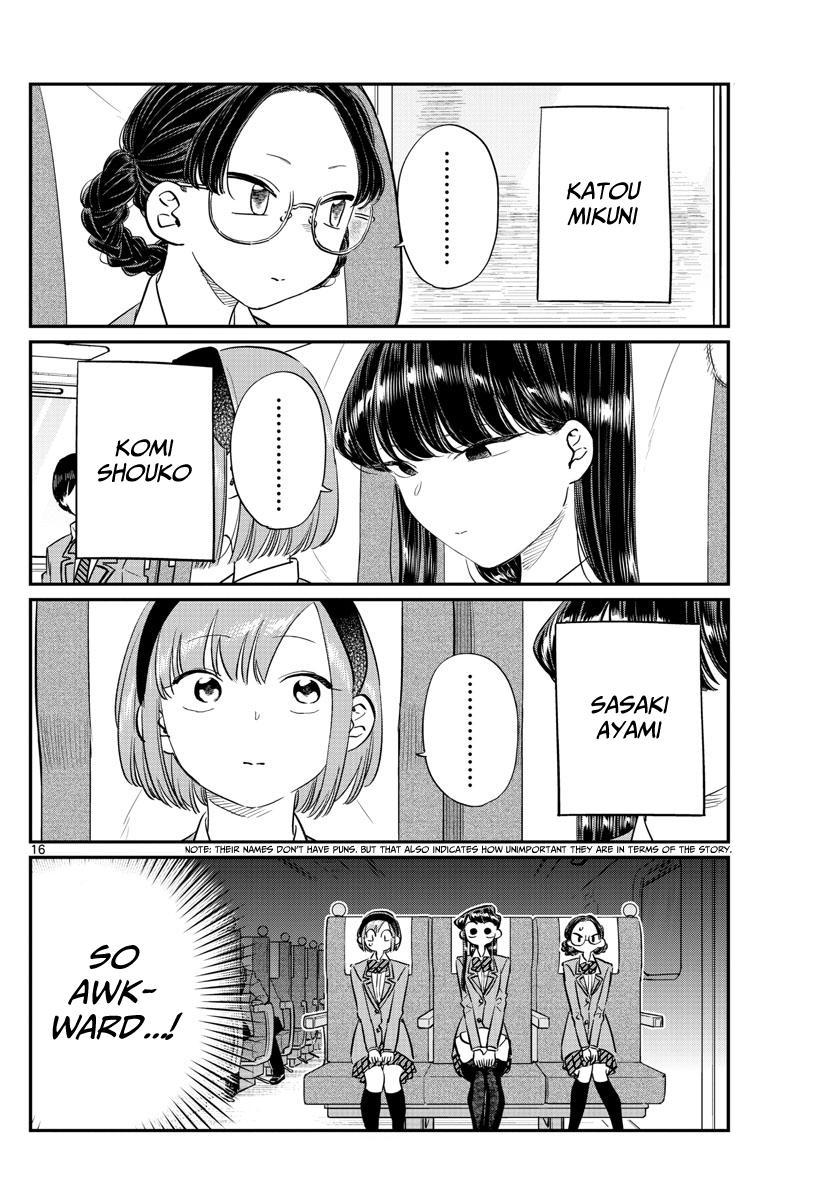 Komi-san wa Komyusho desu - Chapter 100