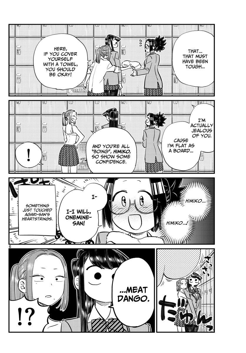 Komi-san wa Komyusho desu - Chapter 102