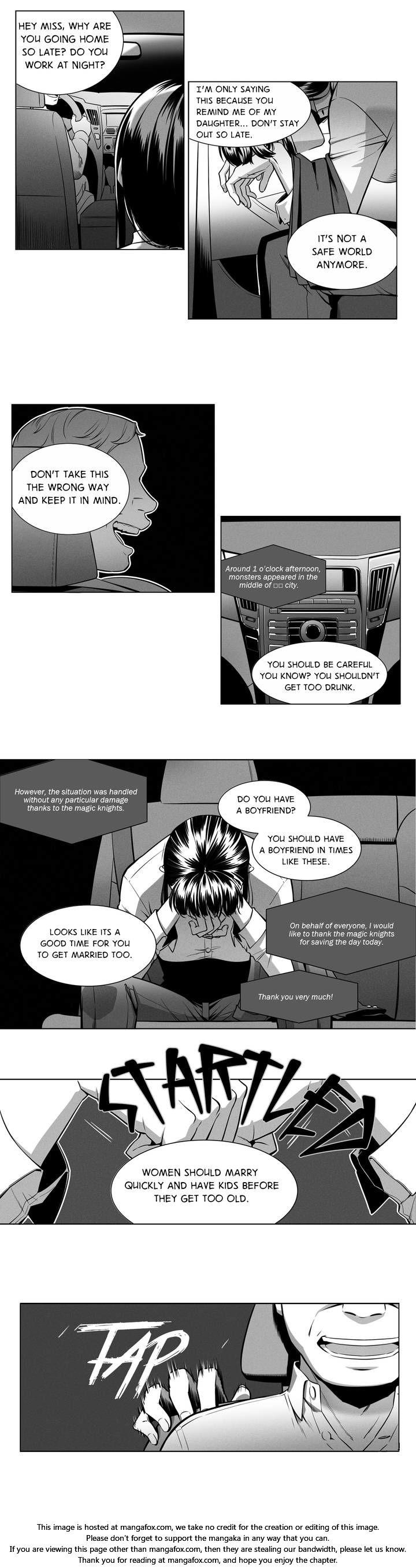 Magic Knight Vs. Magic Knight - Chapter 1