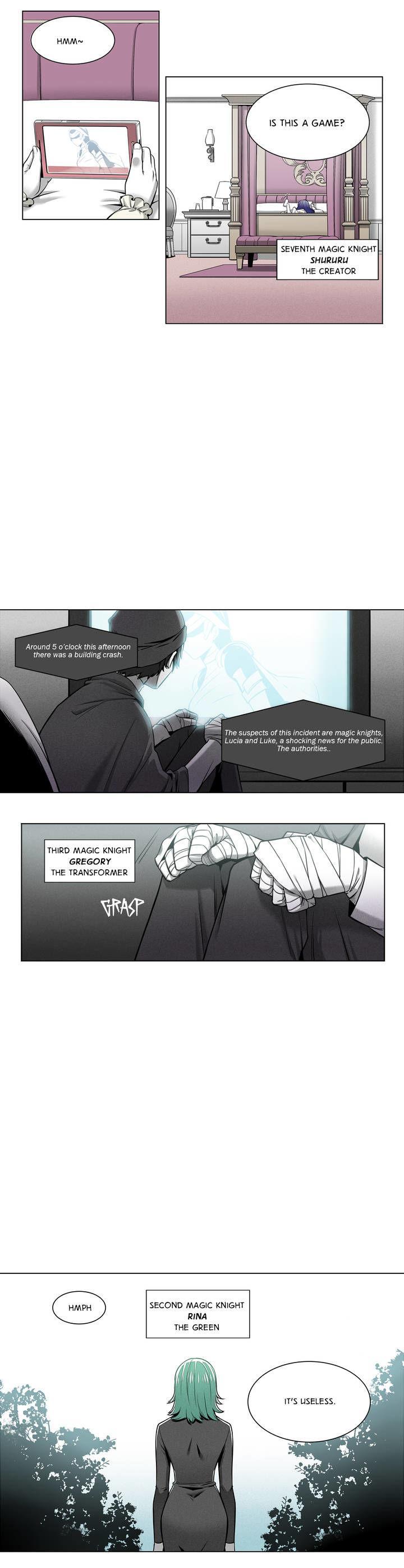 Magic Knight Vs. Magic Knight - Chapter 2