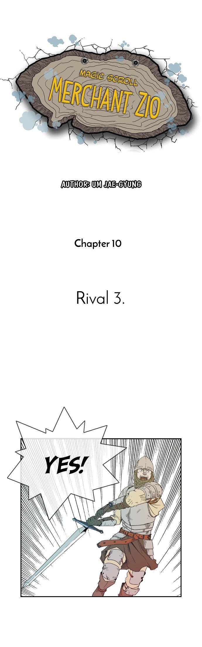 Magic scroll merchant Zio - Chapter 11