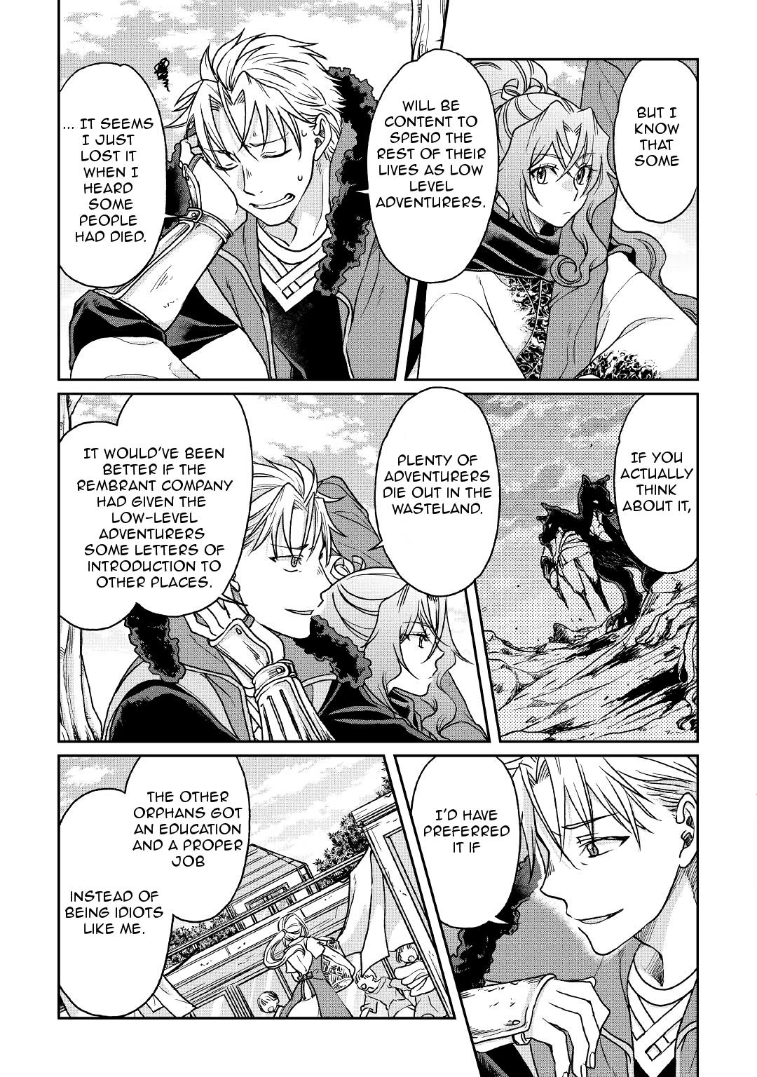 Moon-led Journey Across Another World - Chapter 25