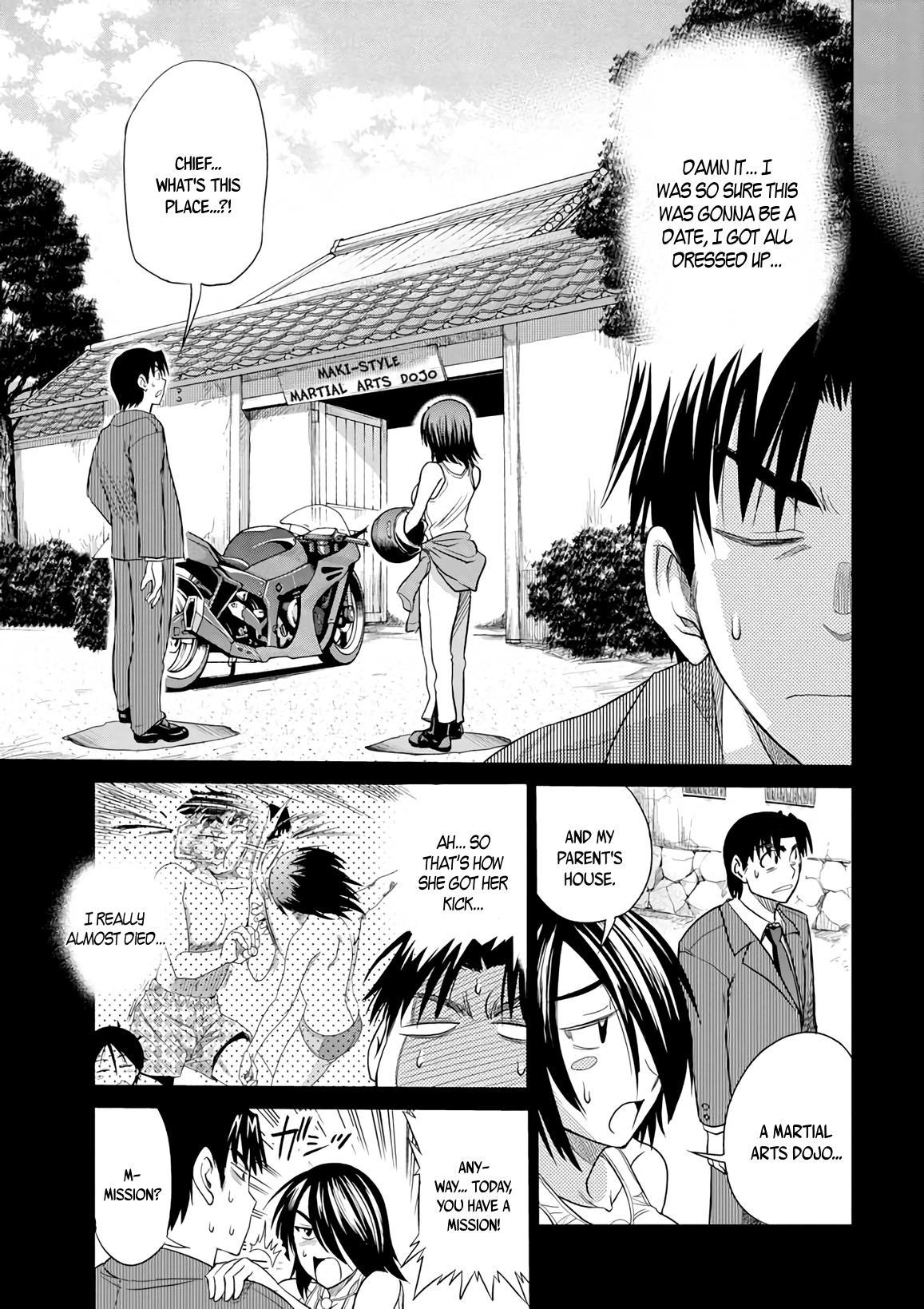 Mouhitsu Hallucination - Chapter 11