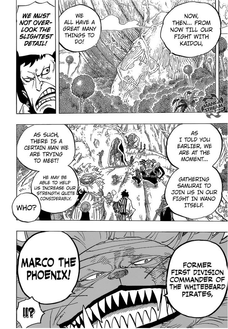 One Piece - Chapter 822