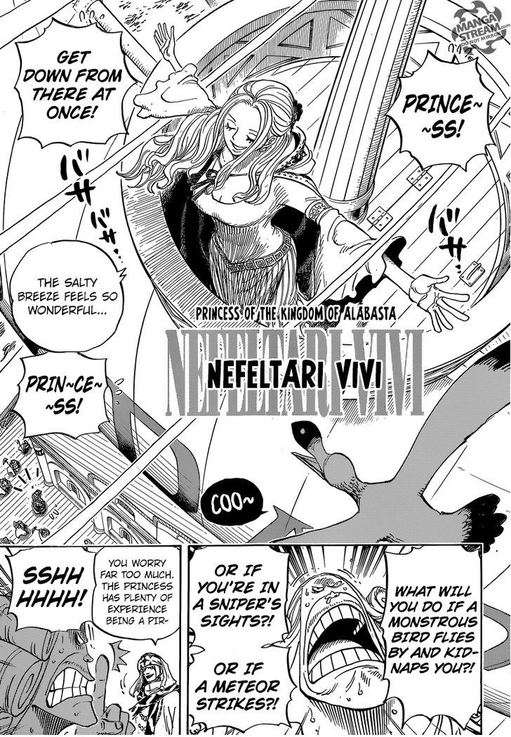 One Piece - Chapter 825